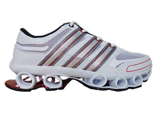 a46de450d38 Tênis Adidas Bounce Titan Mesh Branco e Vermelho - Loja Moda   Estilo